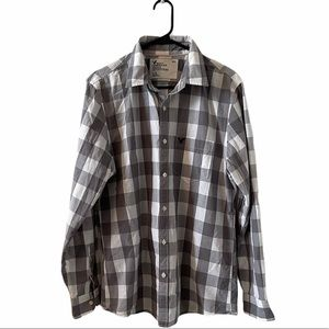 American Eagle Vintage Fit Plaid Shirt